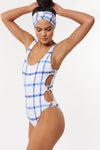 Charlie 1 PC - White/Blue