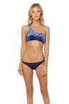 First Crush Basic Hipster Bikini Bottom - Navy