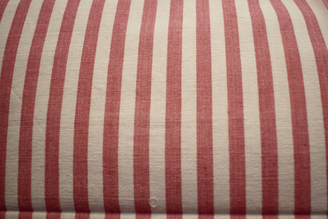 Set - 2 Huse Perna din Bumbac Handloom - Red Stripes