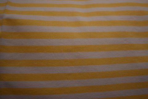 Set - 2 Huse Perna din Bumbac Handloom - Yellow Stripes
