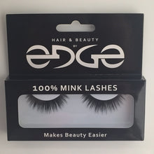 Mink strip eye lash extensions