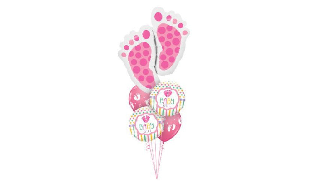 Baby Girl Welcome - Balloon Express