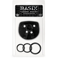 Basix Rubber Works Universal Harness - Black