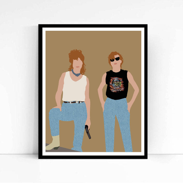 Thelma and Louise • Movie Print