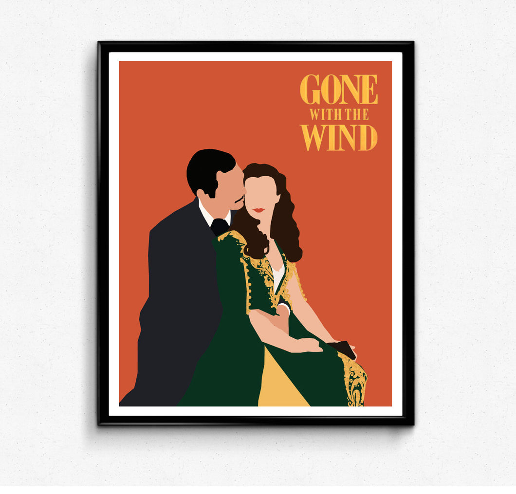 Gone With the Wind • Movie Print