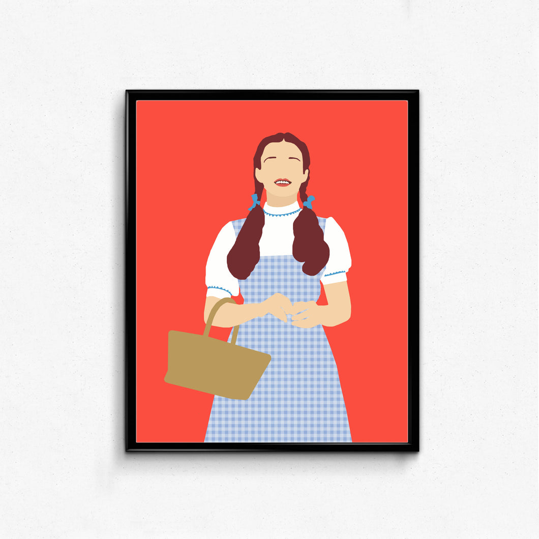 Dorothy, Wizard of Oz • Movie Print