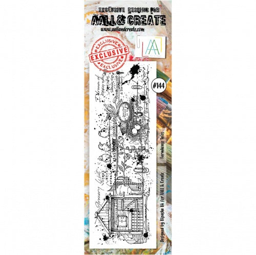 AALL & Create - Clear Border Stamp Set - #144 - Farmhouse Tales