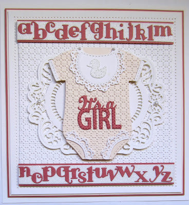 Creative Expressions - Sue Wilson - New Arrival Collection - It's a Girl Die