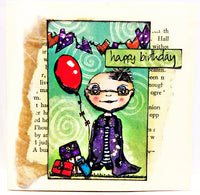 PaperArtsy - Darcy 20 - Rubber Cling Mounted Stamp Set