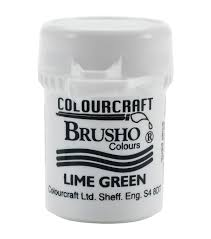 Colourcraft - Brusho Crystal Color - Lime Green