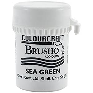 Colourcraft - Brusho Crystal Color - Sea Green