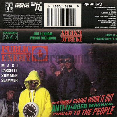 Public Enemy: Brothers Gonna Work It Out: Cassette Single