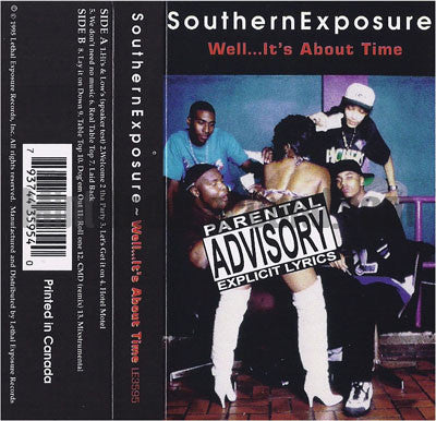 Southern Exposure: Well...It's About Time: Cassette