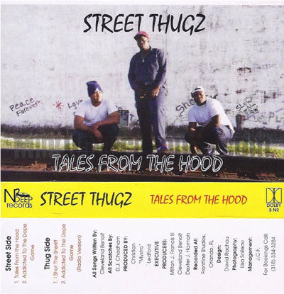 Street Thugz: Tales From The Hood: Cassette