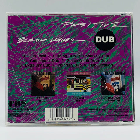 Black Uhuru: Positive Dub: CD