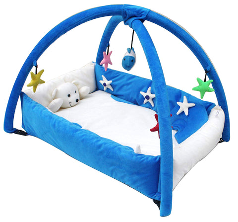 BestP Baby Toy Bed (Blue) - BestP : Best Product at Best Price