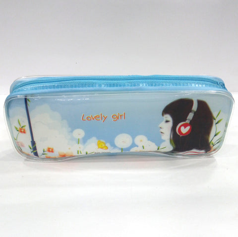 Lovely Flower Girl Pen & Pencil Case - BestP : Best Product at Best Price