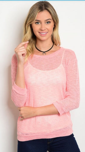 Apricot Top - Perfect for Layering!