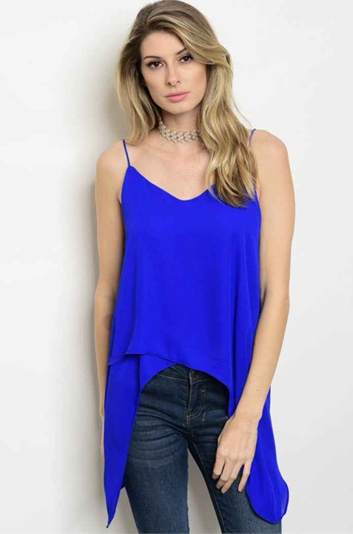 Electric Blue Tank