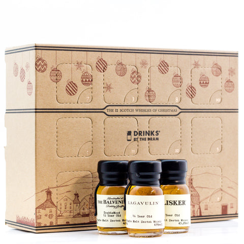 12 Drams of Christmas Scotch Whisky Pack (12x30ml)