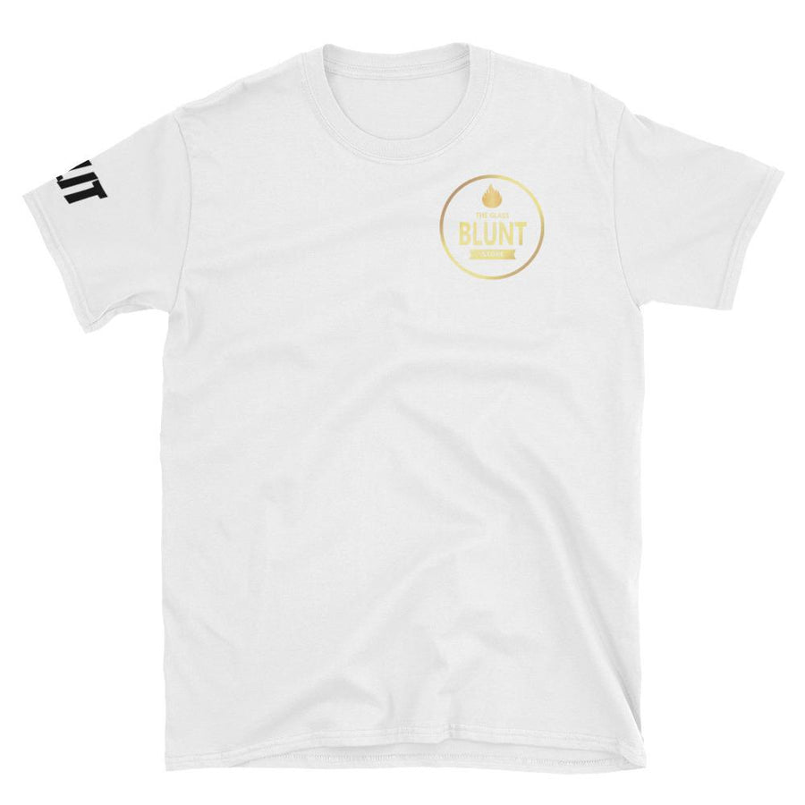 """GBS"" Patch White Short-Sleeve Unisex T-Shirt"