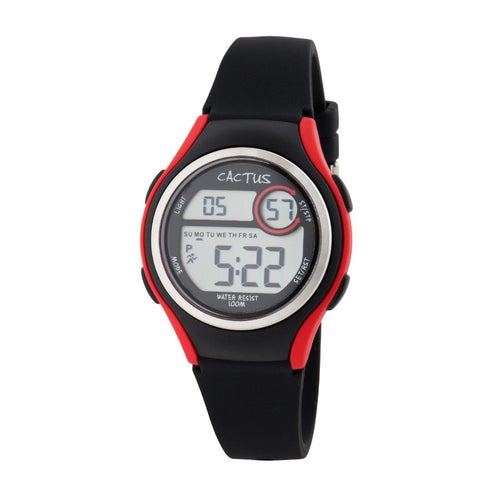 Watches - Coast - Digital Watch For Kids, Girls, Boys - Black/Red