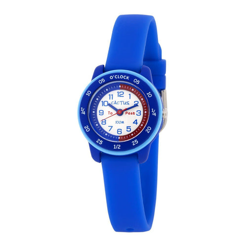 Watches - Time Coach - Time Teacher Watch For Kids - Blue