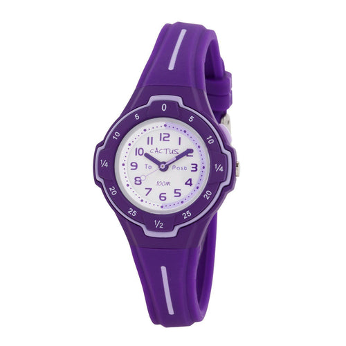 Watches - Time Guide - Time Teacher Watch For Kids - Purple