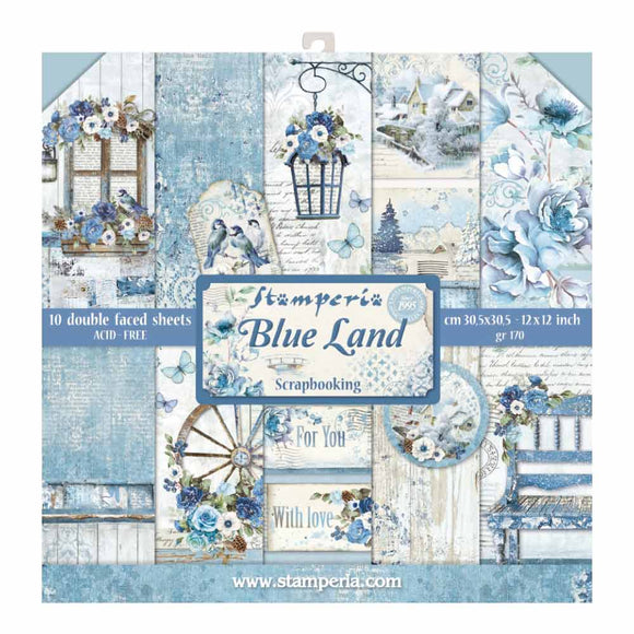 Stamperia Blue Land Collection - 12