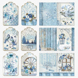 "Stamperia Blue Land Collection - 12"" x 12"" Paper Pad"