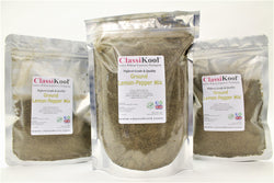 Classikool Ground Lemon-Pepper Mix: Quality Citrus Spice Seasoning for Cooking