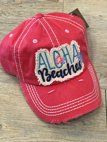 Aloha Beaches Baseball Hat