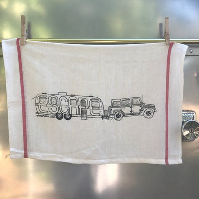 EXCLUSIVE DISH TOWEL AIRSTREAM ESCAPE