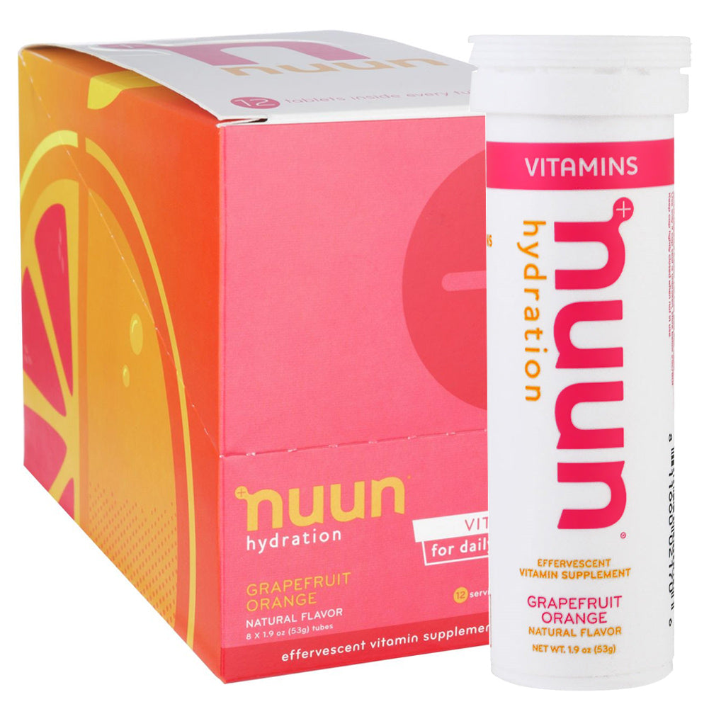 NUUN Grapefruit Orange Box of 8 Tubes Vitamins (1181308)