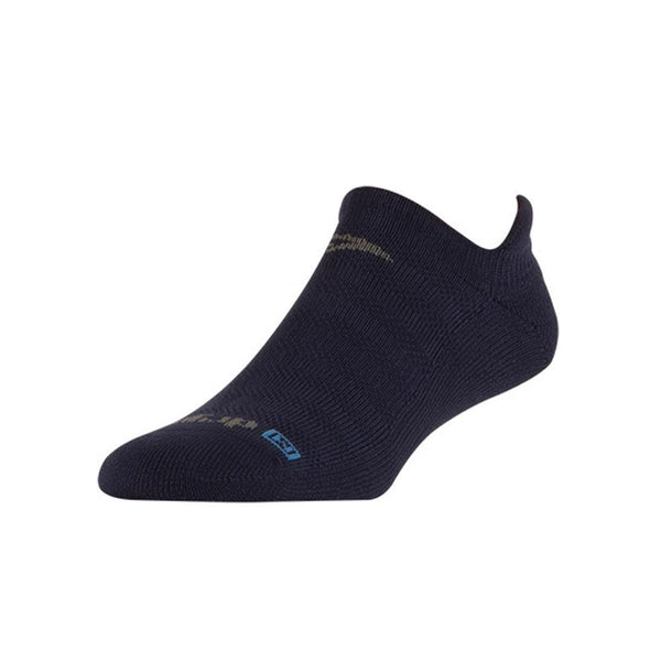 DRYMAX Running Lite-Mesh No Show Tab Navy Socks (DMX-RUN-1133-P)
