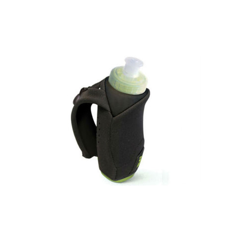 AMPHIPOD Hydraform Handheld Ergo-Lite 10.5oz Black Water Bottle (384)