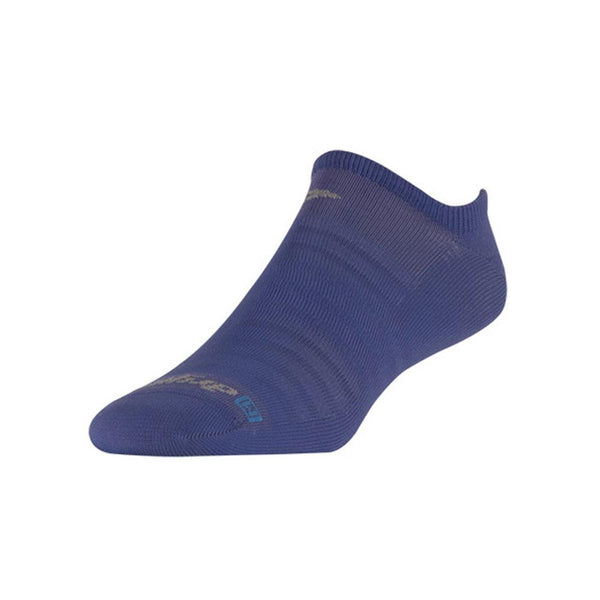 DRYMAX Hyper Thin Running No Show Periwinkle Socks (DMX-RUN-1223-P)