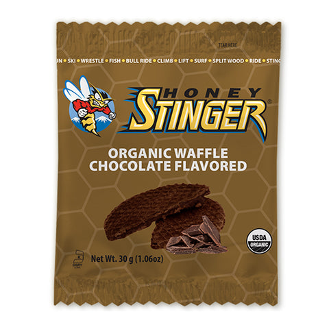 HONEY STINGER Chocolate Flavored Organic Waffle (74316)