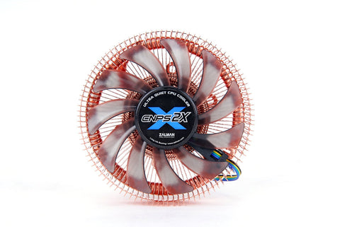Image of ZALMAN CNPS2X 80mm Long Life Bearing CPU Cooler