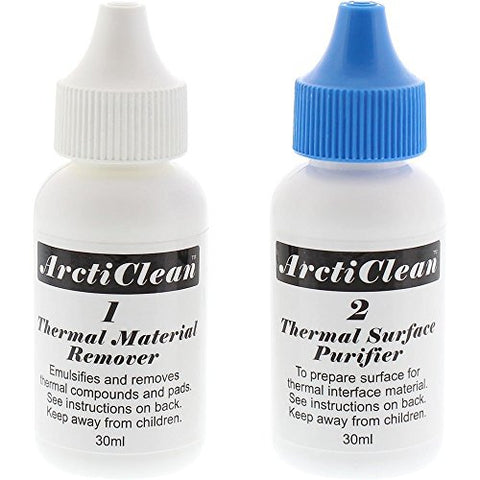 ArctiClean 60ml Thermal Grease Remover and Purifier Kit - 1&2