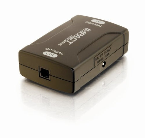Image of C2G S/PDIF Female to TOSLINK Female Audio Converter