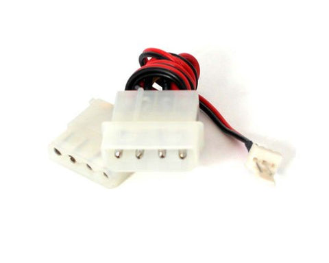 StarTech.com CPUFANADAPT Fan Adapter - TX3 to 2x LP4 Power Y Splitter