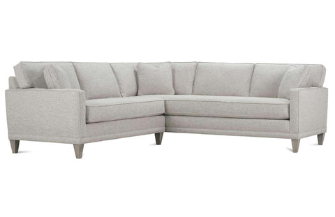 "Nicole ""Designer Style"" Bench Seat Fabric Upholstered Modular Sectional"