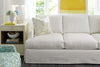 "Image of Sierra ""Designer Style"" Oversized Track Arm Comfort Slipcover Sectional Sofa"
