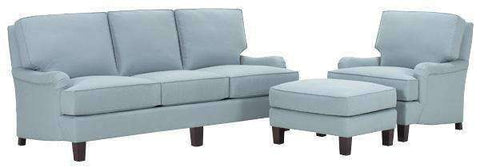 Fabric Furniture Charles Fabric Upholstered Studio Sofa Set