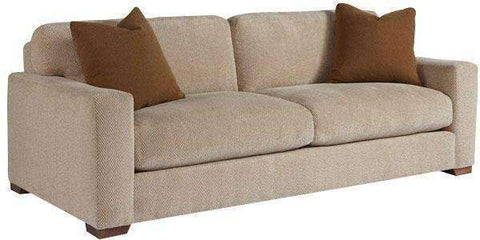 "Fabric Furniture Faye ""Designer Style"" 2 Cushion Oversized Modern Sofa"