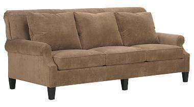 Fabric Furniture Sophia Fabric Upholstered Studio Full Sleeper Sofa