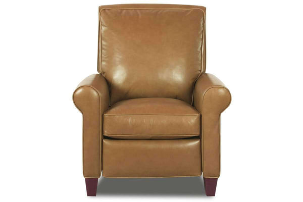 Leather Recliner Perry Leather Pillow Back Recliner