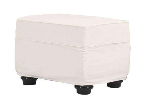 Slipcovered Furniture Mason Slipcover Ottoman