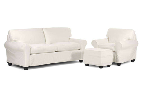 Slipcovered Furniture Mason Slipcover Couch Set